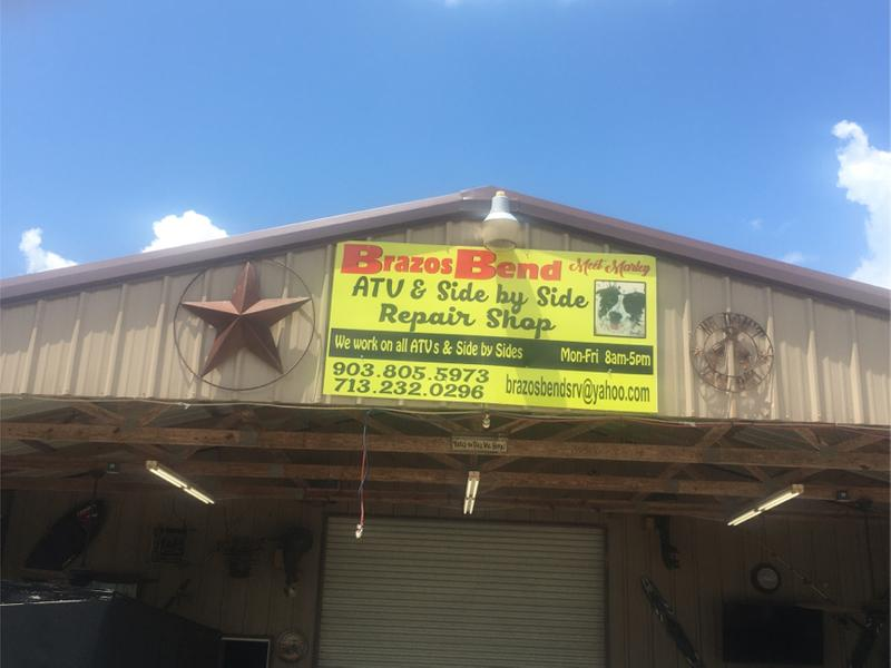 Photo Brazos bend ATVs zero turns 4 wheeler side by side jet skis street bikes motorcycle outbound golf carts all makes and models