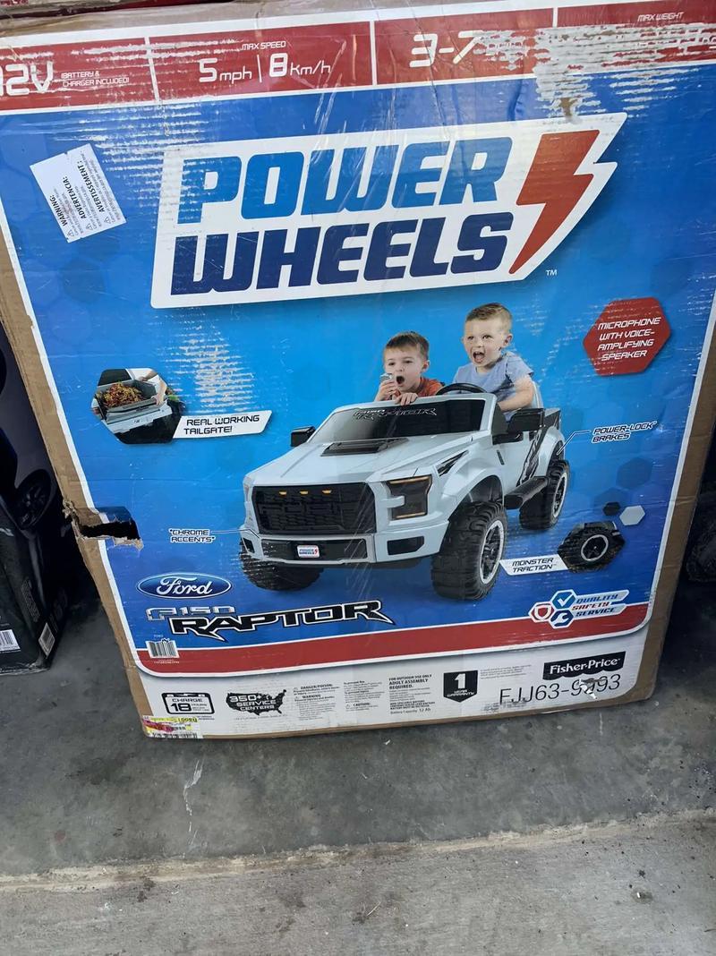 Photo Ford raptor power wheels