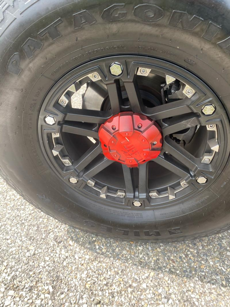 Photo Tuff at 17 imch rims with 35 inch tires set of 5 from jeep wrangler