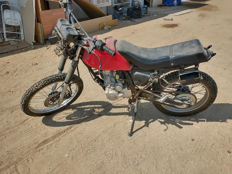 Photo 125 cc Pantera dirt bike