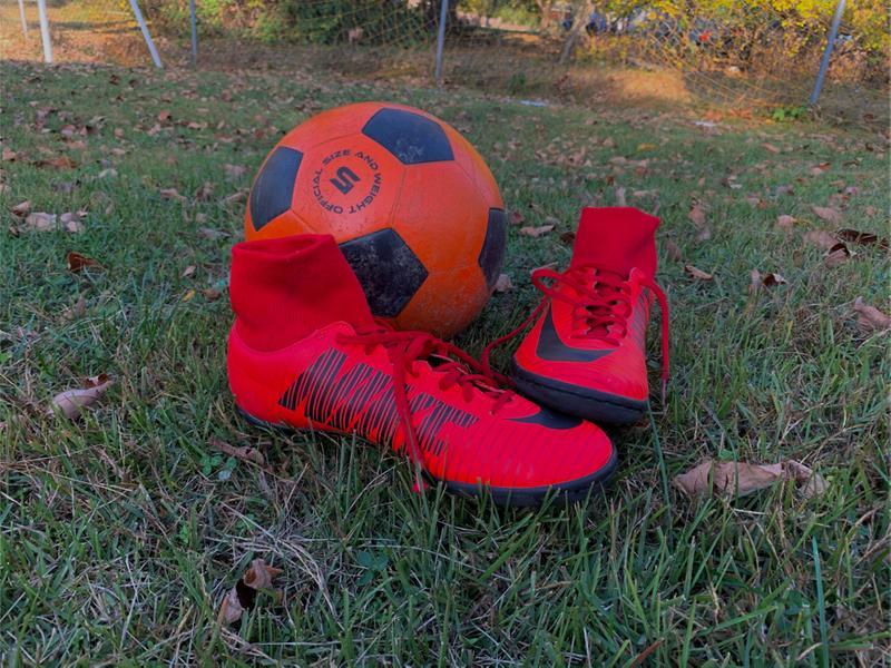 Photo Indoor soccer cleats