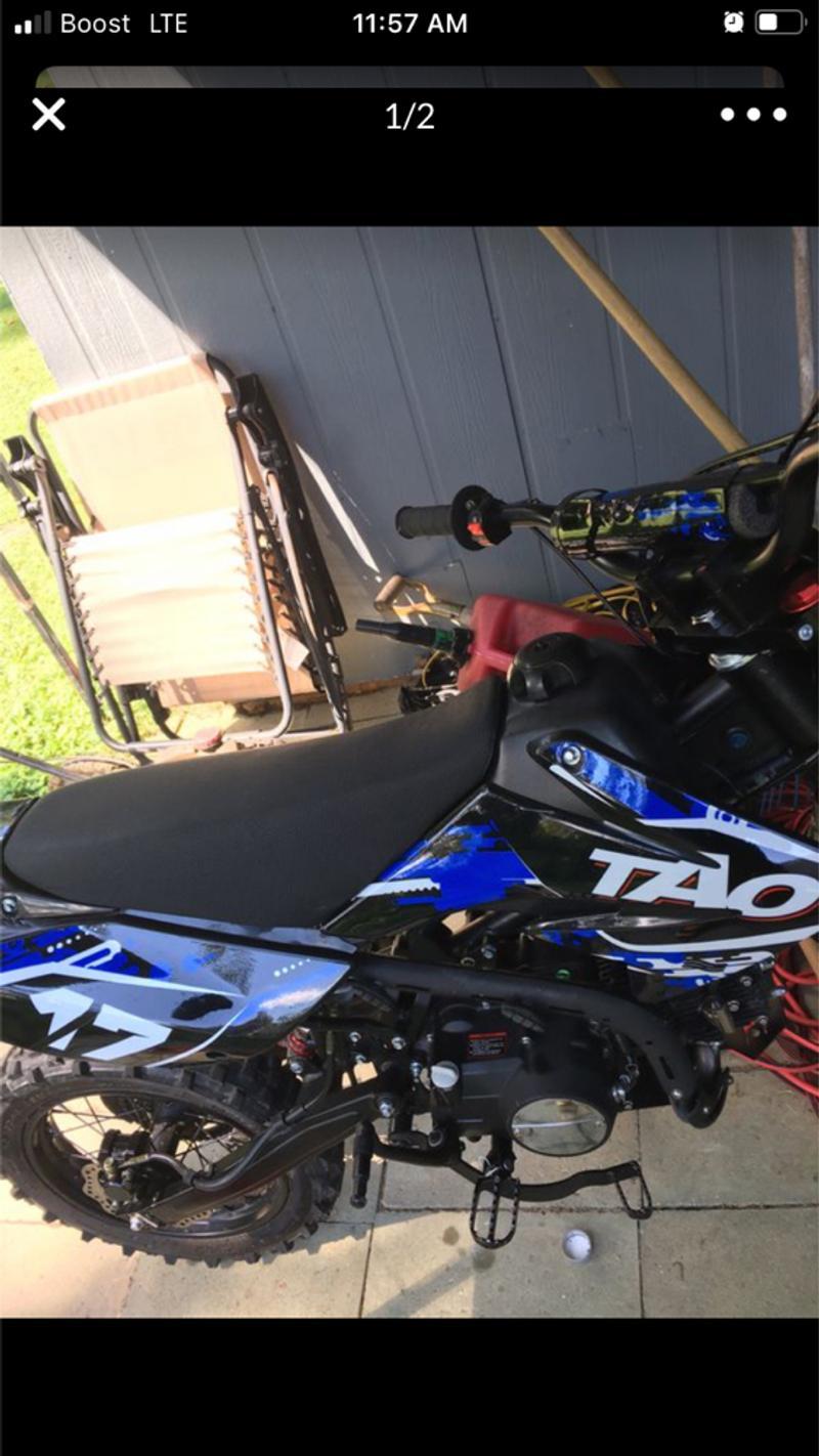 Photo 125 cc dirt bike