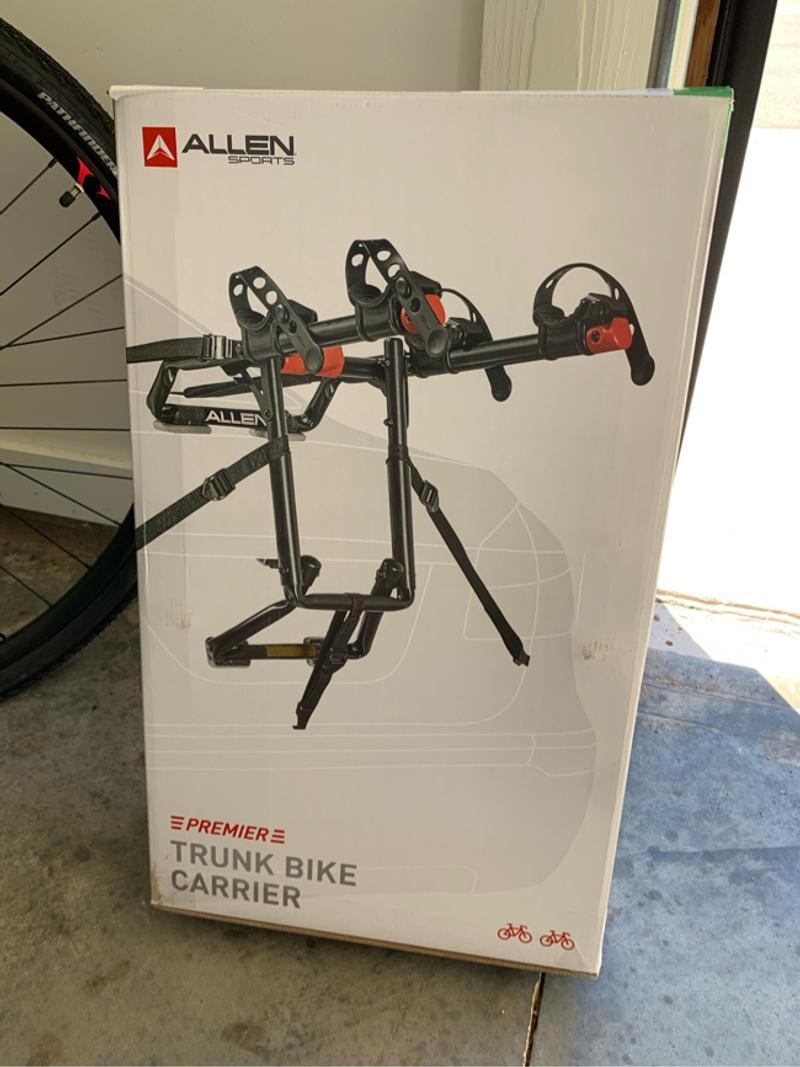 Photo Allen Sports Trunk Bike Carrier Bike Rack