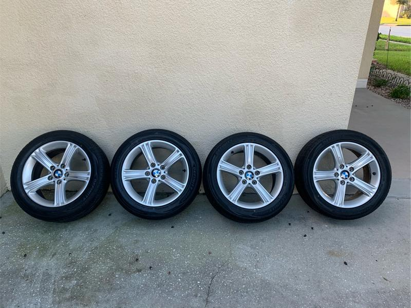 Photo 17 inch bmw wheels and tires