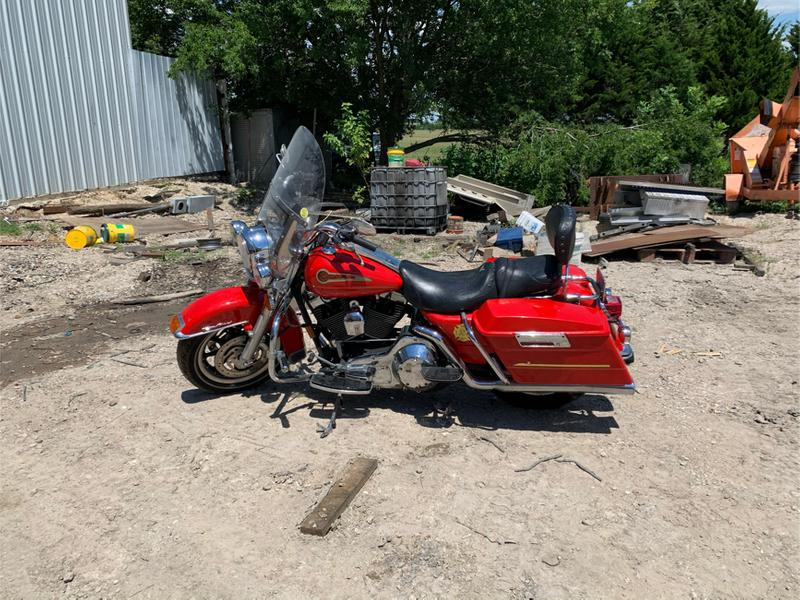 Photo 2004 Harley Davidson Road King Firefighter Special