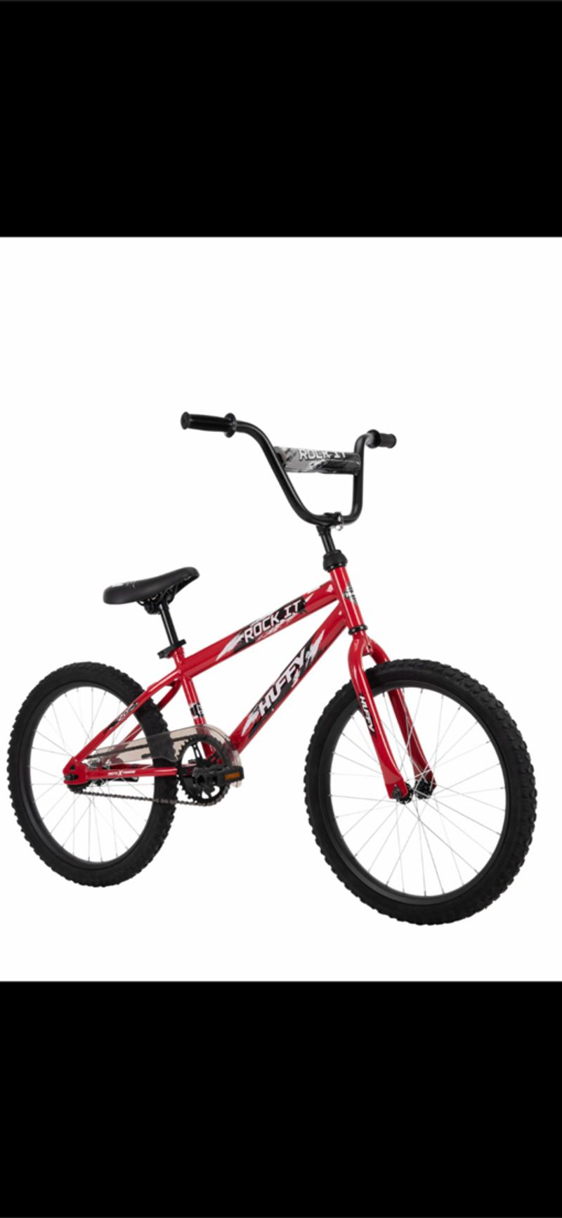 Photo NEW NEW NEW 20 inch Rock It Kids Bike for Boys Hot Red