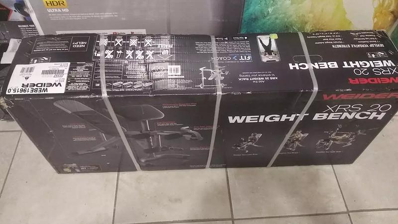 Photo Adjustable Weight Bench with leg developer and preacher curl