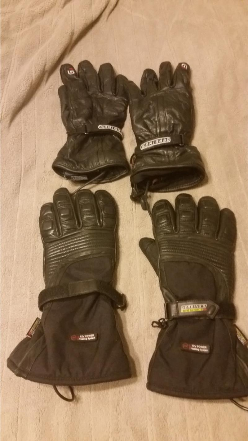 Photo Gerbings heated gear for motorcycle riding nothing wrong with it jacket liner are sizes XL L, soles for boots are either sizes 1112 or 12 accessories are all there