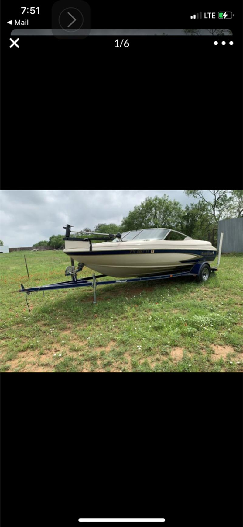 Photo Glastron 18 Fish Ski145HP credit cards accepted