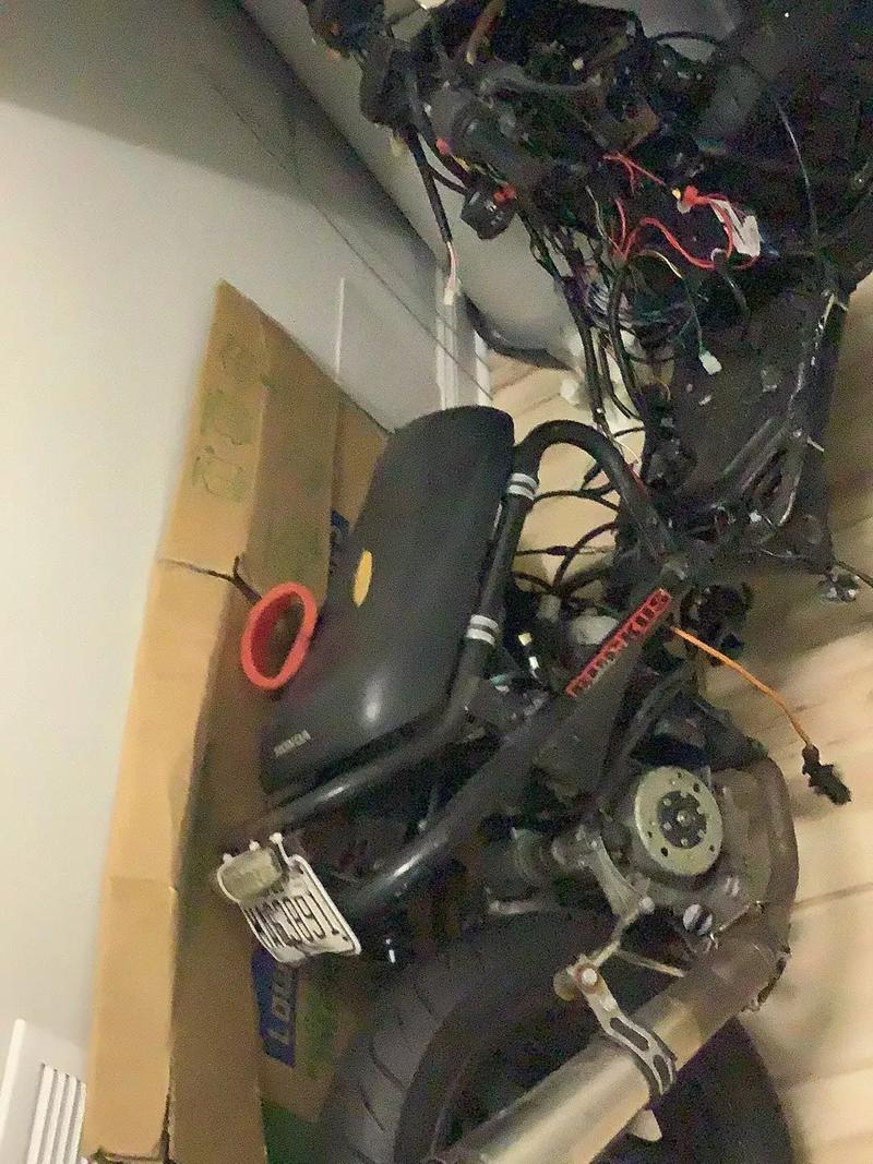 Photo Having sell my scooter for financial reason drove once goes up to 60 mph an runs like new hate to sell it email me for more info