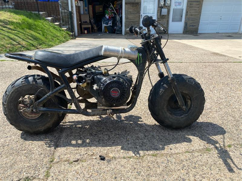 Photo 420 cc gas mini bike
