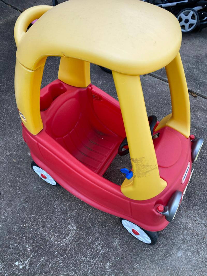 Photo Little times cozy coupe