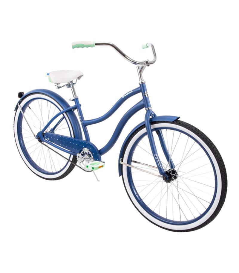 Photo Huffy 26 Cranbrook Womens Comfort Cruiser Bike, Blue