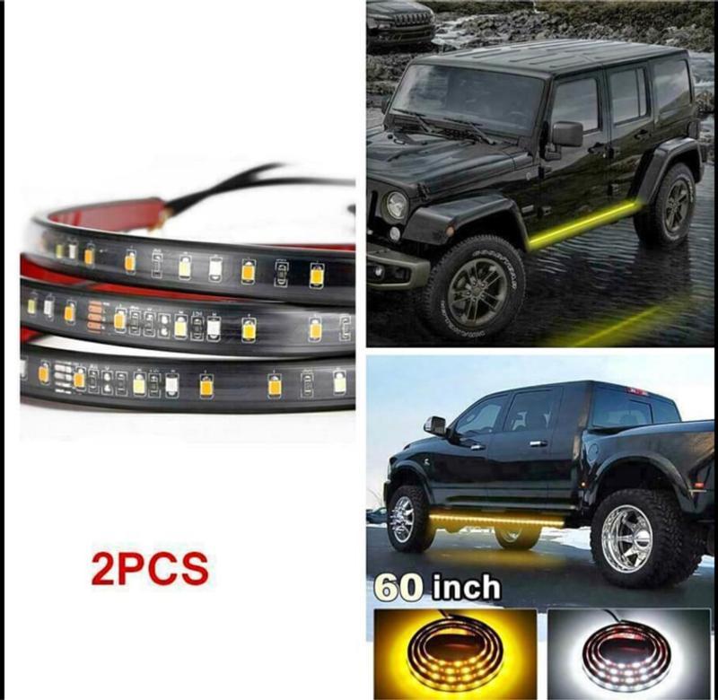 Photo LED Underglow Under Car Lighting Kit 2pc