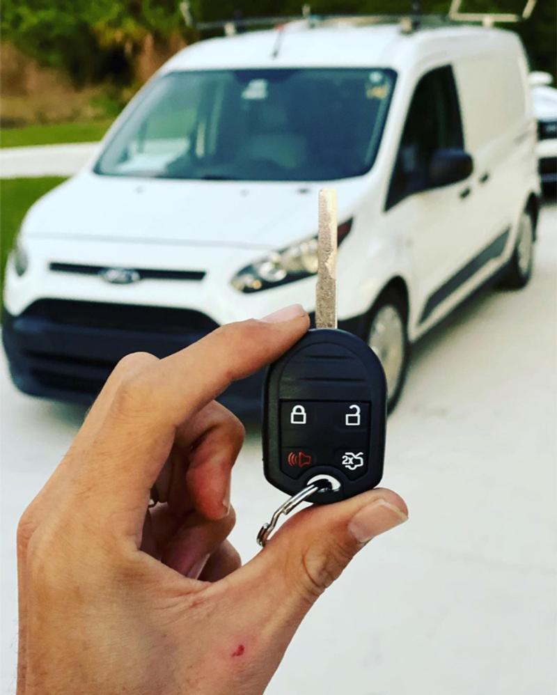 Photo Car keys made on spot