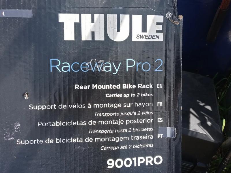 Photo Thule raceway pro 2 bike rack