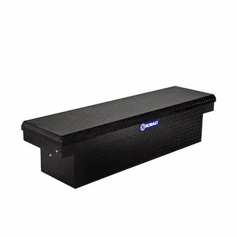 Photo Full size truck tool box kobalt black