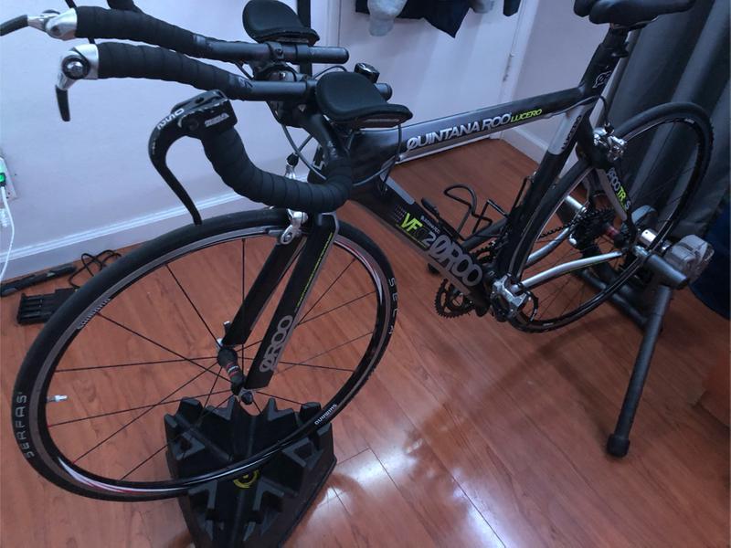 Photo Quintana Roo Lucero 53cm Carbon Tri Bike