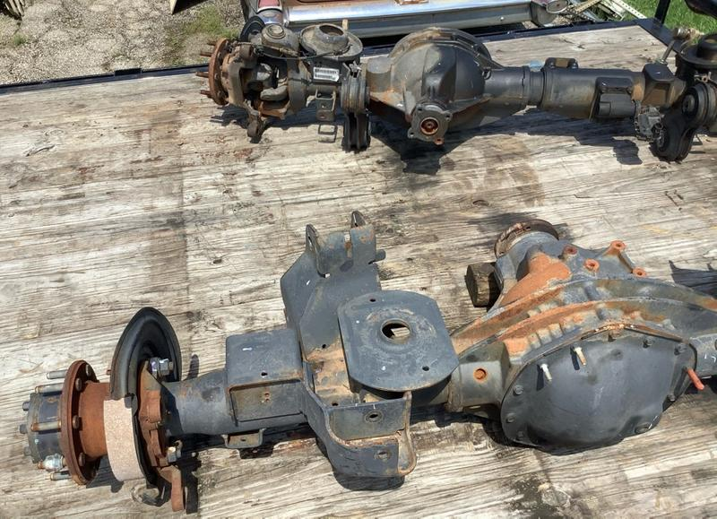 Photo Front and Rear Axle Shaft Dodge Ram