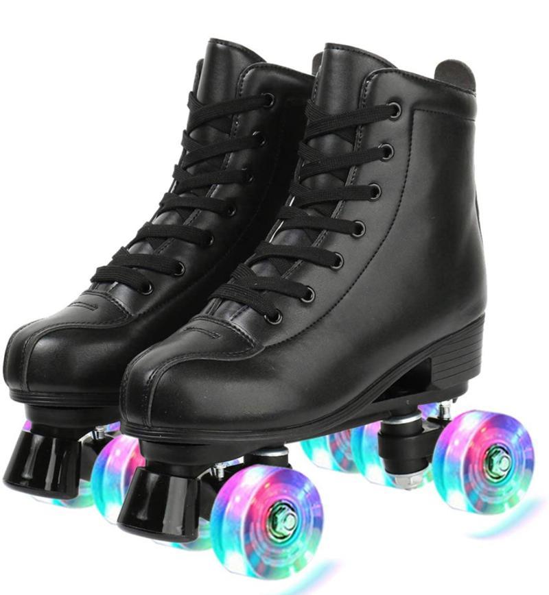 Photo Lignt up Roller Skates Size 407.5